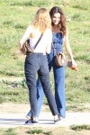 Selena Gomez at Lake Balboa park in Encino 02/02/201860540f737640263