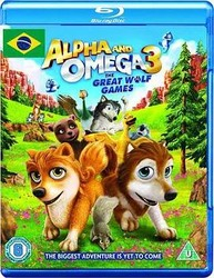 丛林有情狼3:伟大的狼游戏 Alpha and Omega 3: The Great Wolf Games_海报