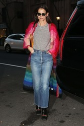 Katie Holmes - At Serendipity in NYC 12/18/18