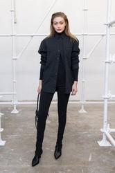 Gigi Hadid - WARDROBE.NYC Launch in NYC 2/11/19