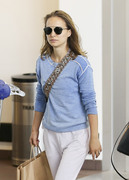Natalie Portman - At LAX Airport 6/17/18