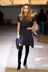 Jamie Chung - Self-Portrait FW18 Fashion Show in NYC 2/10/18