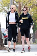 Kristen Stewart & Stella Maxwell - Getting breakfast in LA 4/5/18