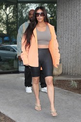 Kim Kardashian - Leaving a studio in LA 3/19/18