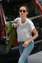 Gisele Bundchen - Out in NYC 6/26/18