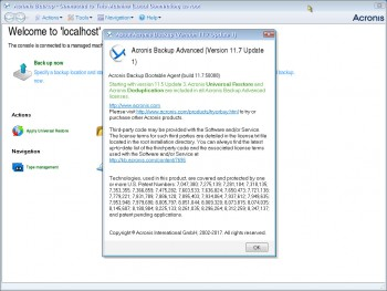 Acronis Backup Advanced 11.7.50088 (ENG) + Universal Restore + BootCD