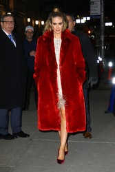 Sarah Paulson - Arriving at The Late Show with Stephen Colbert in NYC 1/17/19