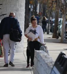Hilary Duff - Shopping in LA 1/15/18