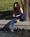 Selena Gomez at Lake Balboa park in Encino 02/02/201880bf5a737640403