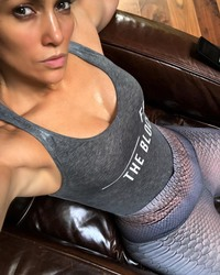 Jennifer Lopez After a Workout - 6/1/18 Instagram