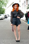 Paloma Faith at the Temperley London show during London Fashion Week SS14 9/15/13