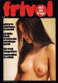 Frivol � 4,5,6 1972 [All Sex] [1972, ��������, JPG]