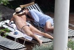 Maria Sharapova - bikini, Positano, Italy 7/22/2018