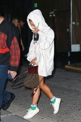 Ariana Grande - Leaving a studio in NYC 10/2/18