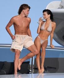 Emily Ratajkowski in a Bikini in Sardinia - 8/11/18
