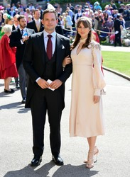 Troian Bellisario - At The Royal Wedding in Windsor 5/19/18
