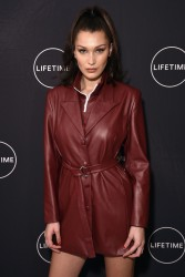Bella Hadid - Lifetime's 'Making a Model' Series Launch in NYC 1/11/18