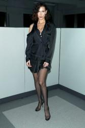 Bella Hadid - Alexander Wang Fashion Show in NYC 2/10/18
