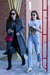 Emma Roberts - Out in LA 3/17/19