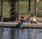 Selena Gomez at Lake Balboa park in Encino 02/02/20184d0a43737644513