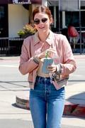 Lucy Hale - Leaving Starbucks in Studio City 6/19/18