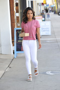 Christina Milian - Shopping and Getting Some Breakfast In Los Angeles (2/15/18)