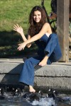 Selena Gomez at Lake Balboa park in Encino 02/02/2018d4d9de737638993