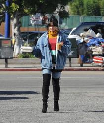 Vanessa Hudgens  Out in LA 12/3/18