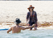 Jessica Alba - At the beach in Mexico 7/5/18
