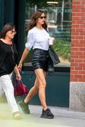 Irina Shayk -           New York City July 19th 2019 With Her Mom.
