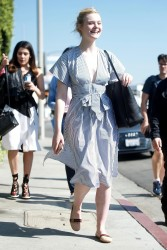 Elle Fanning - Shopping in West Hollywood 2/9/18