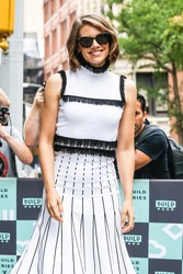 Lauren Cohan - Arriving at the AOL Build Studios in NYC 7/26/18