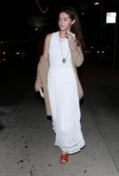 Selena Gomez - Out for dinner in LA 2/9/18