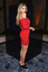Charlotte McKinney - Stuart Weitzman FW18 Presentation & Cocktail Party in NYC 2/8/18