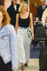 Margot Robbie - At Sydney Airport 3/16/18