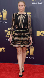 Kristen Bell - 2018 MTV Movie & TV Awards in LA 6/16/18