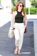Julianne Hough - Leaving a salon in West Hollywood 5/8/18