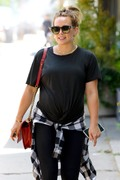 Hilary Duff - Out for lunch in Sherman Oaks 7/30/18