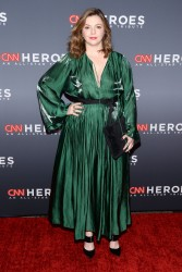 Amber Tamblyn -                CNN Heroes New York City December 17th 2017.