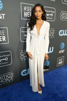 Laura Harrier - 24th Annual Critics' Choice Awards in Santa Monica 1/13/19
