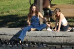 Selena Gomez at Lake Balboa park in Encino 02/02/2018d420de737644013