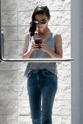Mila Kunis - Out in Century City, CA 7/26/18