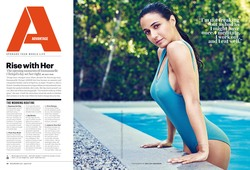 Emmanuelle Chriqui - Men's Health Magazine April 2018