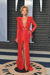 Rita Ora - 2018 Vanity Fair Oscar Party 3/4/18