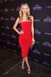 Olivia Jordan - Marvel's 'Black Panther' Celebrates New York Fashion Week with 'Welcome to Wakanda' in NYC 2/12/18