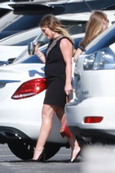 Hilary Duff - Arriving at CBS Studios in LA 6/11/18