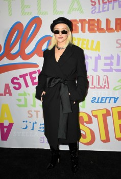 Christina Aguilera - Attending Stella McCartney's Autumn 2018 Collection Launch 1/16/18