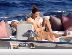 Katharine McPhee in a Bikini in Capri, Italy - 7/3/19
