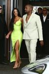 Kim Kardashian - Attending a wedding in Miami 8/18/18