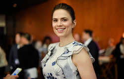 Hayley Atwell - Deadline Hollywood - 'Howards End', Los Angeles, 4/15/2018